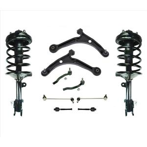Suspension and Steering Chassis 10pc Kit for Honda Pilot 03-05 All Wheel Drive