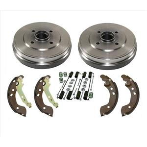 Drums Brake Shoes Springs for Nissan Versa 12-15 Versa Note 14-17 1.6L