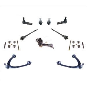 Ball Joints Control Arms Tie Rods Fits For 11-14 Silverado 25 35 2500HD 3500HD