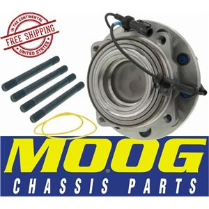 MOOG 515115 FRONT HUB AND BEARING ASSEMBLY