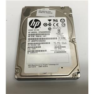 "HP Seagate 600GB 10K SAS 2.5"" 6Gbps ST600MM0006 705018-001 746630-001"