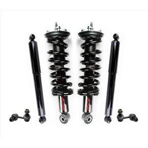 Front Struts Sway Bar Links Shocks for Nissan Frontier 4 Wheel Drive V6 05-13