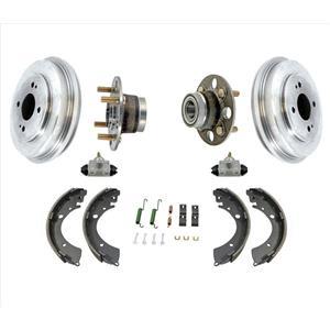 Rear Drums Shoes Springs Wheel Cylinders Hub Bearings for Honda Civic 01-05