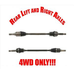(2) Rear Axles For Dodge Caliber 07-12 All Wheel Drive FITS REAR