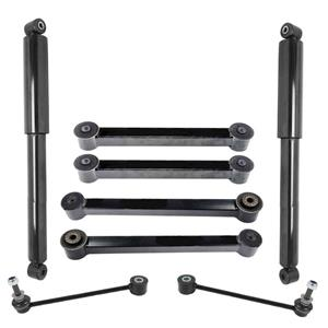 Rear Lower & Upper Control Arms for Jeep Grand Cherokee 2005-2010 (REAR) 8PC KIT