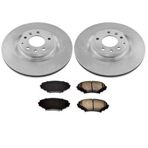 Front Brake Disc Rotor Rotors & Pads for Mazda RX8 (2) 12 5/8 2009-2011