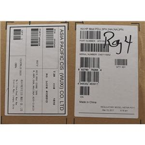 HP AF512A 8.6 kVA 24A 3-PHASE Kit HP Mod PDU 3PH 24A New Open Box