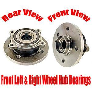 2pc Kit Front Wheel Hub Assembly REF# 31226756889 for Mini Cooper 2002-2006