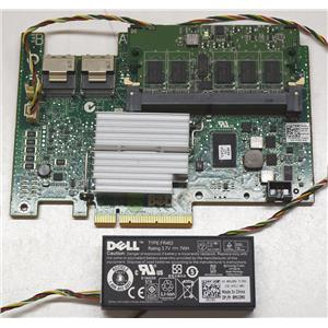 Dell Perc H700 512MB Cache 6Gb/s H2R6M XXFVX Refurbished w/ battery