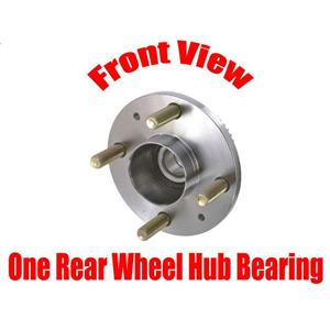 ONE REAR Wheel Bearing and Hub Assembly Rear for Chevrolet Aveo With ABS 04-11