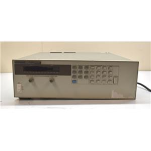 HP Agilent 6652A DC Power Supply 0-20V 0-25A 500W Powers On PARTS