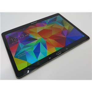 Samsung SM-T807A Galaxy Tab S Wi-Fi + 4G 16GB Android Tablet W/ Good AT&T IMEI #
