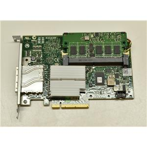 Dell PERC H800 SAS RAID Controller D90PG w/ 512 MB Cache w/ Battery