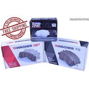 Wagner Brake ZD787 Ceramic Disc Pad Set Includes Pad Installation Hardware