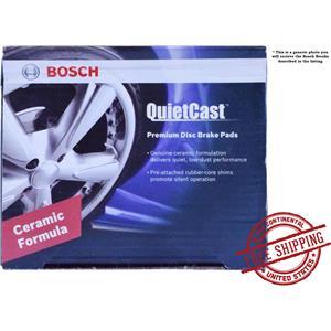 Bosch BC653 QuietCast Premium Ceramic FRONT Disc Brake Pad Set