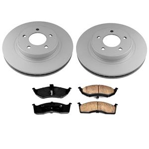 Front Rotors Brake Pads for Chrysler 300M 2000-2004 Without Performance Package