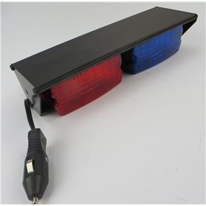 Federal Signal SML2F SignalMaster Dual Halogen 12-Volt Vehicle Light -RED / BLUE