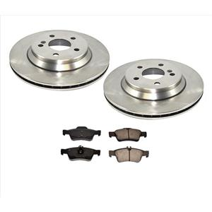 Fits For Mercedes Benz 03 06 S430 S500 4Matic REAR Brake Rotors & Ceramic Pads