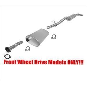 For GM 02-05 Venture Front Wheel Drv 120 Inch Wheel Base Exhaust System Muffler