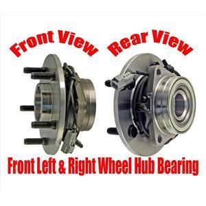 Front Wheel Hub Bearings for Dodge Ram 1500 00-01 Four Wheel Drive 4 Wheel ABS
