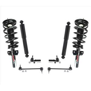Front Struts Sway Bar Links Tie Rods and Rear Shocks for Ford Windstar 95-03