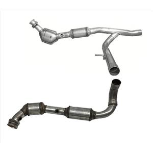 For 2004-2008 Ford F150 5.4L 4 Wheel Drive Eng Y Pipe Dual Catalytic Converters