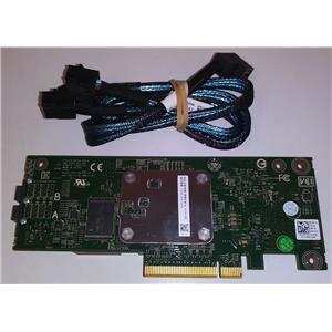 Dell PowerEdge PERC H330 12Gb SAS PCIe RAID Controller 4Y5H1 w/ Cables