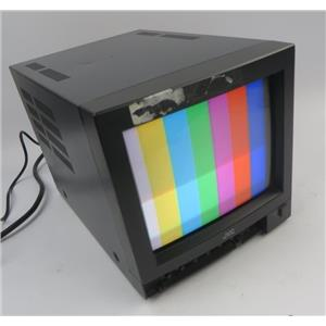"""JVC TM-9U(A) 9"""" Color CRT BNC Video Security Monitor - GREAT FOR RETRO GAMING"""