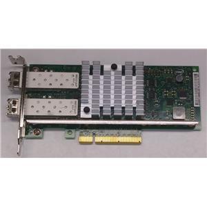 Dell / Intel X520-DA2 Dual Port 10Gbe SFP Network Adapter NIC 942V6 Low Profile