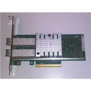 Dell Intel X520-DA2 2-Port 10Gbe SFP Network Adapter XYT17 High Profile w/ SFP's