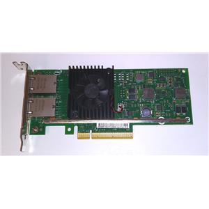 Dell Intel X540-T2 Dual Port RJ-45 10GB NIC PCIe x8 Network Card 3DFV8 Low Pro