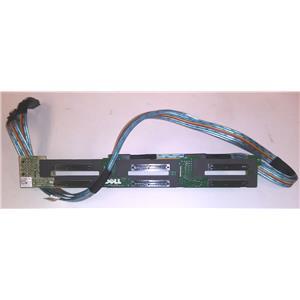 OEM Dell Precision R7610 6 Bay SAS Backplane W/ Cables YHJYR