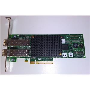 HP Emulex 8GB Fiber Channel PCIe Dual Port Card w/ SFP's LPE12002 697890-001