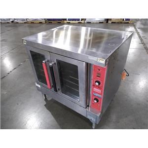 Vulcan VC4GD-10 Double Door Standard Depth Gas Convection Oven #2