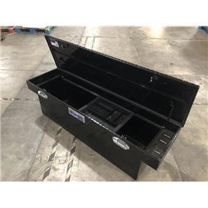 "Better Built 79210987 70"" Black Finish Diamond Aluminum Truck Tool Box"