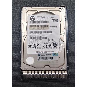"""HP 653960-001 652599-003 300GB 2.5"""" 15K 6Gb/s SAS HDD MK3001GRRB w/ Tray"""