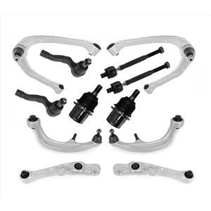 Front Upper and Lower Control Arms + Chassis 12pc Kit for Nissan 350Z 03-09