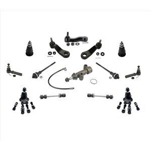 Ball Joint Tie Rods Idler Arm Pitman For GM Rear Wheel Drive 2000 Silverado 2500