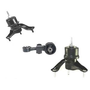 Front Right Torque Engine Motor Transmission Mount 3pc Set Highlander Venza 2.7L