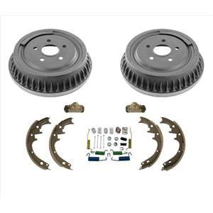 Fits 1993-1997 Ford Aerostar Rear Brake Drums Shoes Springs Wheel Cylinders