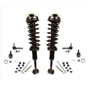 Fits For Ford 06-10 Explorer Frt Coil Spring Strut Mount Sway Bar Tie Rod 8Pc Kt