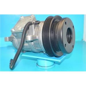AC COMPRESSOR 57386 FITS CARAVAN VOYAGER TOWN & COUNTRY (1YR WTY) REMAN