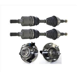 Front Axles & Wheel Hub Bearings for Hummer H3 H3T 2006-2010