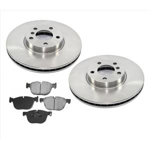 Front Disc Brake Rotor Front for 2007-2012 BMW X5 3.0L Gas Engine Only
