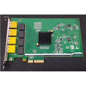 Dell T0YYG Silicom PE2G4I35 4-Port Gigabit Ethernet PCIe Adapter