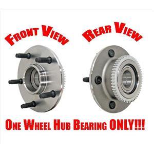 (1) Front Wheel Bearing Hub Assembly Fits 00-01 Dodge Ram 1500 Rear Wheel Drive