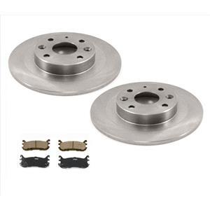 Fits For 94-00 Mazda Miata MX-5 9 7/8 Inch Rear Brake Rotors & Ceramic Pads
