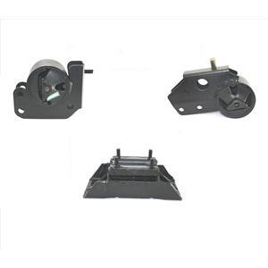 for Dodge Dakota 97-03 V6 V8 4 Wheel Drive  Engine & Transmission Mount 3pc Kit