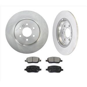 Fits For 11-12 VPG MV-1 4.6L REAR Disc Brake Rotors & Ceramic Pads REAR