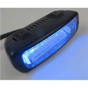 Whelen TLN1B Talon Led Dashlight BLUE 12VDC P/N 01-0685950-20A -TESTED & WORKING